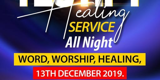 Testify Healing Service
