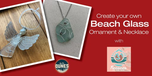 Create Your Own Beach Glass Angel Ornament and Necklace