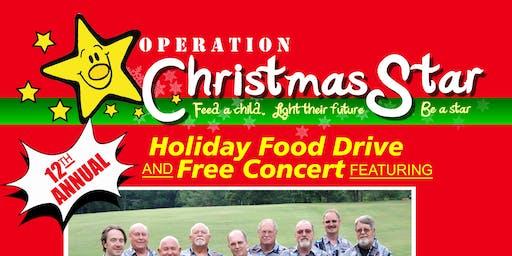 Operation Christmas Star Food Drive & Holiday Concert