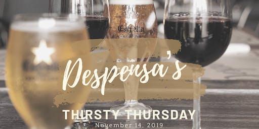 Despensa's Thirsty Thursday