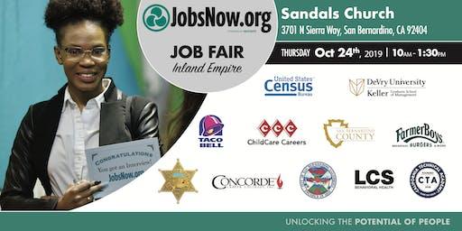 Inland Empire Career, Disability and Veteran Job Fair