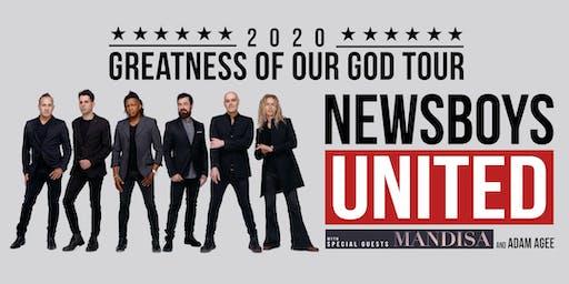 Newsboys Tour 2020.Newsboys United Greatness Of Our God Tour Tickets Fri Apr