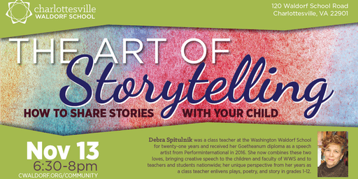 The Art of Storytelling with Debra Spitulnik