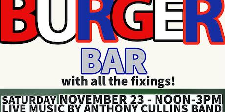 Free Burger Bar at Biggs Harley tickets