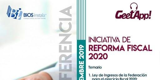 Guadalajara, Iniciativa de Reforma Fiscal 2020