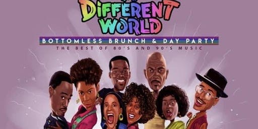 A Different World: 80's & 90's Bottomless Brunch & Day Party