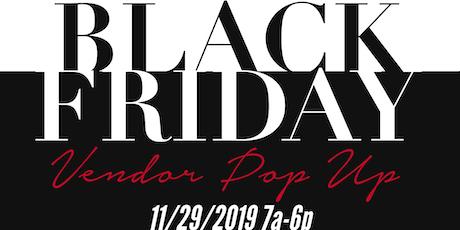Black Friday Vendor Pop Up tickets