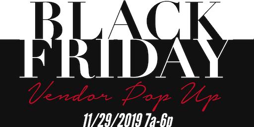 Black Friday Vendor Pop Up