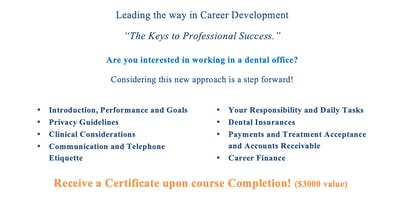 Career in the Dental Field