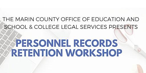 Personnel Records Retention