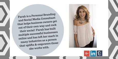 Cracking Social Media for your Business with Farah Miltimore tickets