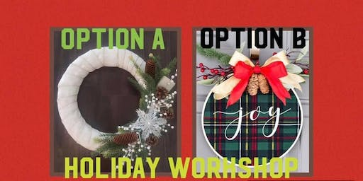 Make And Take-Holiday Workshop