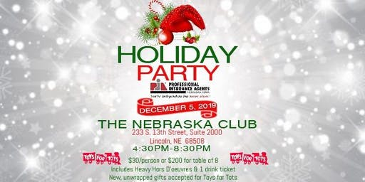 Holiday Party for Professional Insurance Agents of NE/IA