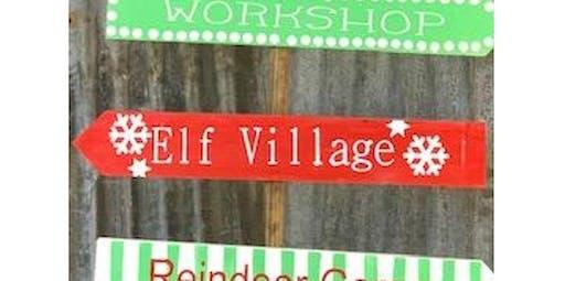 Christmas 6' Way-finder Sign Workshop (2019-11-12 starts at 5:30 PM)
