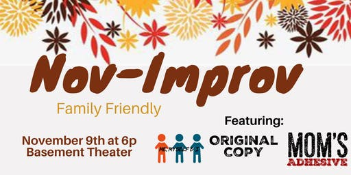 Nov-Improv: Family Friendly Improv Show