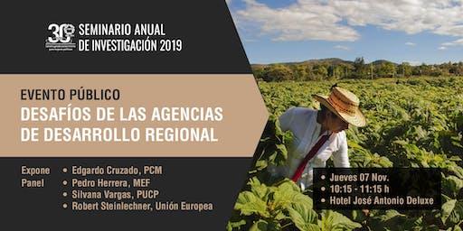 Desafíos de las agencias de desarrollo regional