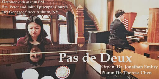 Pas de Deux: Organ and Piano Duet with Jonathan Embry and Dr. Theresa Chen