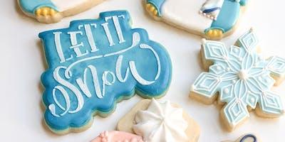Let It Snow Cookie Decorating Class