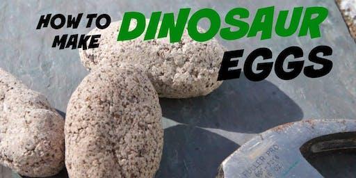 NORTHSIDE: DIY Dino Eggs (For Grades 2-6 Only)