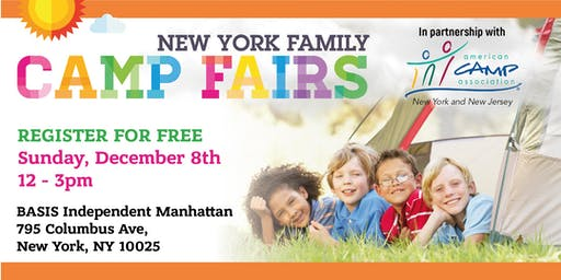 New York Family Camp Fair - Upper  West  Side