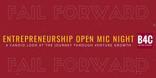 Entrepreneurship Fail Forward Night