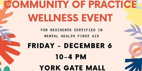Community of Practice Wellness Event (Jane-Finch Community) tickets