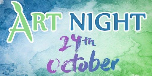 Art Night! : October Shenanigans!