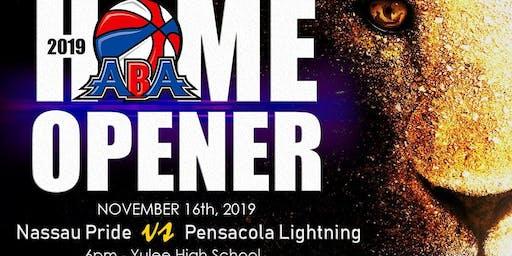 Nassau Pride vs Pensacola Lightning