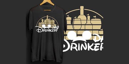 Disney Day Drinking - Drink Around The World Crawl