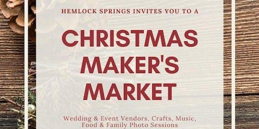 Hemlock Springs Christmas Maker's Market