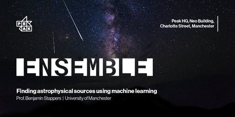 Peak Ensemble   Finding astrophysical sources using machine learning tickets