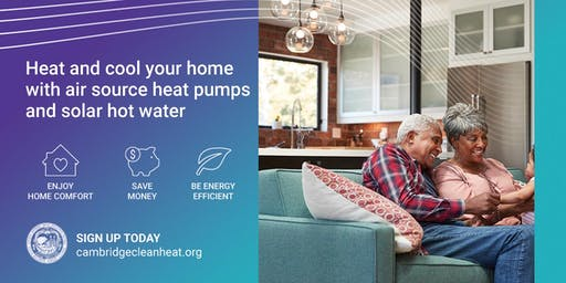 Cambridge Clean Heating and Cooling Public Workshop