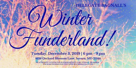Delegate Bagnall's Winter Funderland! tickets