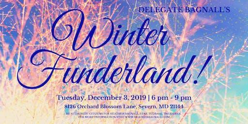 Delegate Bagnall's Winter Funderland!