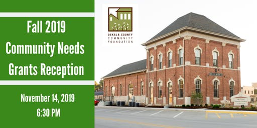 Fall 2019 Community Needs Grant Reception