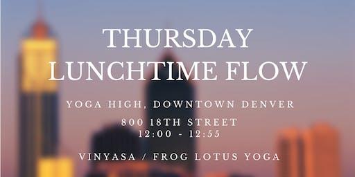 Thursday Lunchtime Yoga Flow (Downtown Denver)