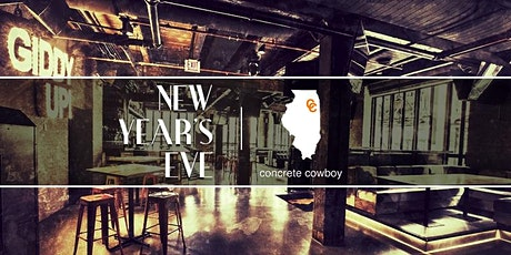 New Year's Eve Chicago at Concrete Cowboy tickets
