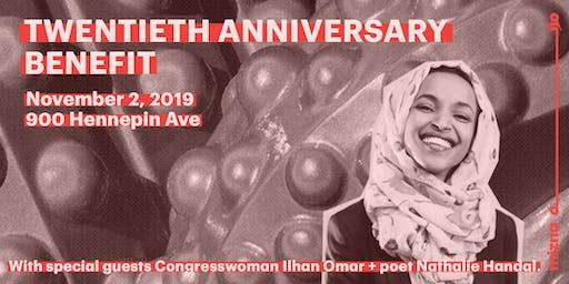 Mizna's 20th Anniversary Benefit with Ilhan Omar