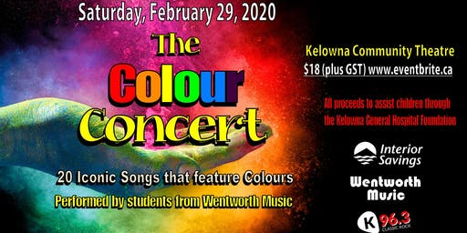 The Colour Concert (Matinee - 2pm show)
