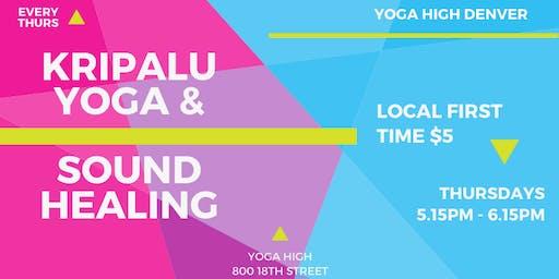 Kripalu Yoga & Sound Healing