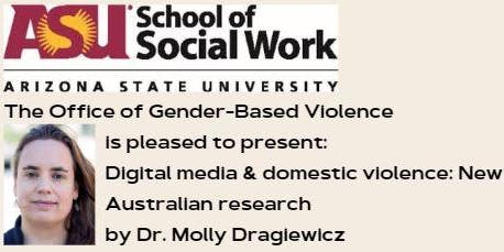 Digital media and domestic violence:  New Australian research