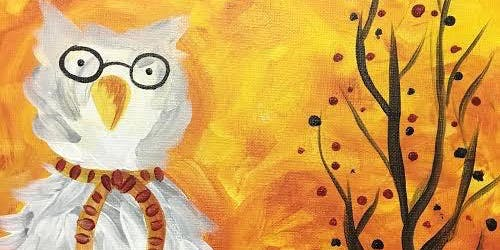 Creative Canvas for Kids - Wizard's Owl