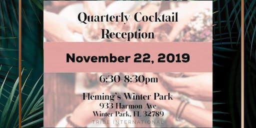 Quarterly Cocktail Reception