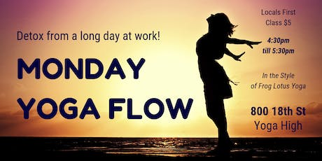 Monday Yoga Flow (Downtown) tickets