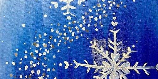 Family Fun Creative Canvas - Snowflakes