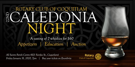 Caledonia Night tickets