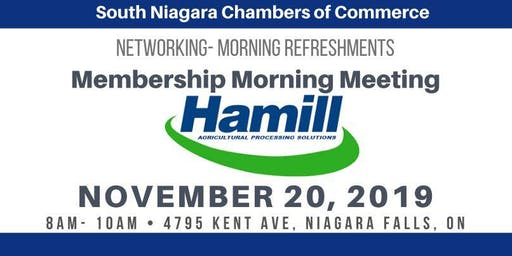 November Membership Morning Meeting