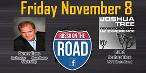 Russo on the Road - Comedy & Music Series November 8th