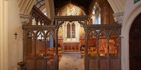 Visit to St Stephen's Church, Rochester Row and Talk by John Turpin tickets