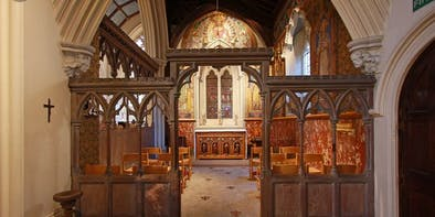 Visit to St Stephen's Church, Rochester Row and Talk by John Turpin